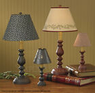 """Candlestick Lamp by Park Designs, Iron, 23"""" Tall, Choice of Red or Black, 1 or 2"""
