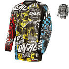ONEAL ELEMENT KIDS YOUTHS JUNIOR 2015 WILD MOTOCROSS MOTO-X MX MOTOX TOP JERSEY