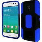 For Alcatel ONETOUCH Pop Star LTE Robust Slim Rubber Case HYBRID Phone Cover