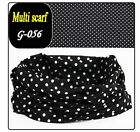 Hot Multi Purpose Head Face Mask Snood Bandana Neck Warmer Sport Scarf 60 Colors