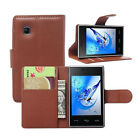 Flip Support Wallet Leather Cover Case For LG T585 (9 Colors) b