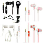 For ZTE Compel Z830 Luxmo Hands Free Microphone Headset 3.5mm Jack Earbuds