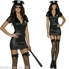 Ladies Fever Sexy Cop Police Officer Uniform Fancy Dress Costume Outfit UK 4-18