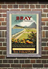 Bray Ireland - Reproduction Vintage Travel Poster
