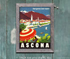 Ascona Switzerland - Reproduction Vintage Travel Poster