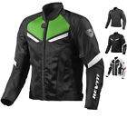 Rev It GT-R Air Motorcycle Textile Jacket Sport Race Summer CE Armor GhostBikes
