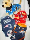 Nfl Fleece Dog Coats Size Large 20-27lbs  Washable,more Sizes In E-bay Store!