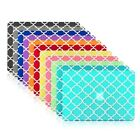 "Quatrefoil Moroccan Matte Hard Case for Macbook Air 11"" A1370 & A1465"