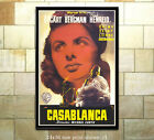 Bergman Bogart Casablanca #5 Film Movie Poster [6 sizes, matte+glossy avail]