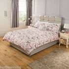 Pink Butterfly Duvet Set - single / double / king size - New