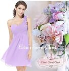 BNWT CHLOE Corsage Chiffon Lilac Bridesmaid Prom Occasion Dress UK 6 -18