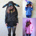 Animi Pokemon Umbreon / Kigurumi Fleecejacke Kapuzen Pullover Sweatshirt Hoodie