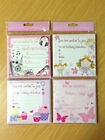 Girls childrens birthday invite party invitations fairy butterfly cupcake x 16