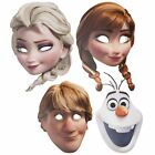 NEW Official Disney Frozen Face Masks - Fancy Dress Party Masks