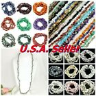 Natural Gemstone Chips Nugget Freeform Loose Bead 34 Chip Necklace Bracelet USA
