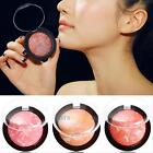 New Professional Trendy Makeup Cosmetic Blush Blusher Powder Palette 3 Colors