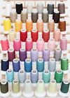 Внешний вид - WOOLY NYLON THREAD SERGER STRETCHY 1000M #200 WOOLLY 50 COLORS  - THREADART