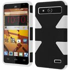 For Boost Mobile ZTE Speed N9130 IMPACT TUFF HYBRID Hard Phone Case Skin Cover
