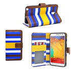 Striped Phone Case Cover for Samsung Note 3 S5 S4 and iPhone 5 5S