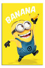 Despicable Me Film Minions Banana Large Poster New - Maxi Size 36 x 24 Inch