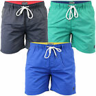 Mens Swimming Shorts Dissident Trunks Beach Mesh Lined Drawcord Summer Casual