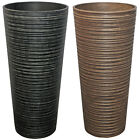 BENTLEY GARDEN FIBRECLAY PLANT POT GARDEN PLANTER - COLOURS AND SIZES AVAILABLE
