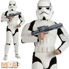 Deluxe Stormtrooper Star Wars Mens Fancy Dress Storm Trooper Adult Costume - New