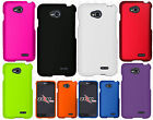 For LG Optimus Exceed 2 VS450 Rubberized HARD Protector Case Snap Phone Cover