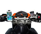 Motorcycle Quick Release Bike Handlebar 21-30mm Mount + Holder for iPhone 6 4.7