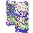 Heavy Duty Hybrid Rugged Hard Case Cover For Apple iPod Touch 5 5th 6 6th Gen