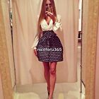Women Sexy New Summer Casual Long Sleeve Party Evening Cocktail Short Mini Dress