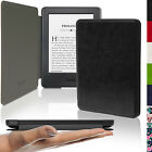 Etui Housse Coque Mince Cuir PU pour  Amazon Kindle 2014 Tactile Case Cover Film