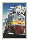 CP #1 - Vintage Canadian Railroad Poster