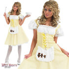 LADIES LONGER LENGTH GOLDILOCKS BOOK WEEK STORYTIME FANCY DRESS COSTUME