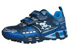 Geox J LT Eclipse A Boys Sneakers / Shoes - Navy Silver - C0673