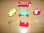 Cardboard Die Cut Toppers Mens & Boys Cars, Tool Box, Trophy Various Designs