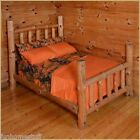 ORANGE Woods Hunter Microfiber Camouflage Camo Bed Sheet Set all Sizes