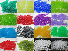 150 - 8mm Round Faceted Acrylic / Plastic Beads