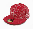 NEW ERA Fitted Hat Authentic Collection 59FIFTY MLB Saint Louis Cardinals