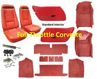 1970 - 1975 Corvette Interior Package( Carpet, Door Panels, Seat Covers & Kit )