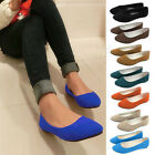 Women's Ladies Ballerina Dolly Microsuede Pump Womens Slippers Flat Shoes