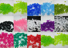 500 - 18mm Plastic Starflake / Paddlewheel Beads Made in USA - Color Choice