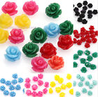 10-30Pcs Gorgeous Rose Flower Coral Spacer beads Crafts Artificial Coral