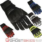 Richa Evolution Mens Motorcycle Gloves Leather Textile Vented CE Armour Touring