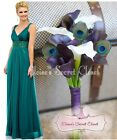 TABITHA Teal Green Beaded Embellished Chiffon Prom Evening Ballgown Dress