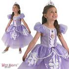 FANCY DRESS COSTUME ~ GIRLS PREMIUM DISNEY SOFIA THE FIRST SOPHIA AGES 3-6