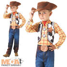 Toy Story Woody + Hat Kids Fancy Dress Disney Western Cowboy Kids Childs Costume