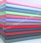 Per half metre/fat quarter  cotton poplin tiny star fabric 100 % cotton poplin