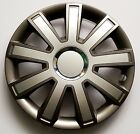 "SET OF 4 15"" WHEEL TRIMS,RIMS TO FIT VW GOLF MK5, MK6, MK7 + GIFT #9"