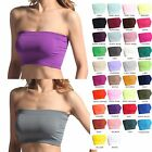 TheMogan PACK OF 2 Layering Bra Top Bandeau Strapless Stretch Brarette SAVE $2